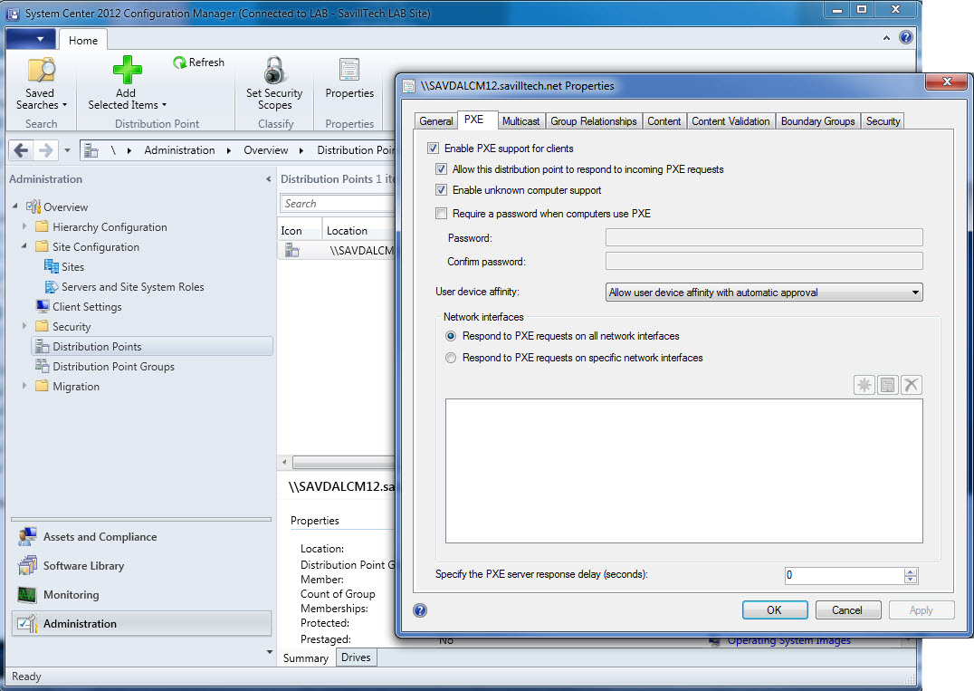 how to create boot image sccm 2012 r2